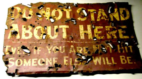 Trench sign